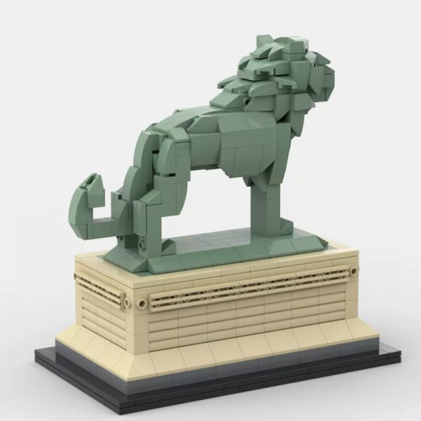 MOC 53134 Art Institute Lion Creator by bric 3 - MOULD KING