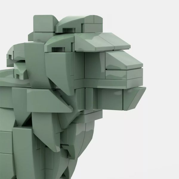 MOC 53134 Art Institute Lion Creator by bric 4 - MOULD KING