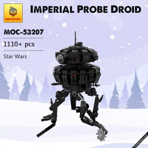 MOC 53207 Imperial Probe Droid Star Wars by dmarkng MOC FACTORY - MOULD KING