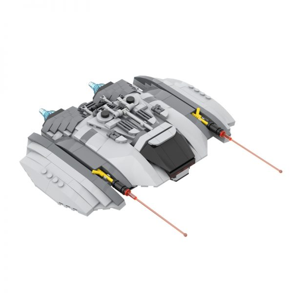 MOC 55621 Cylon Raider 1978 Space by Runescope MOC FACTORY 2 - MOULD KING
