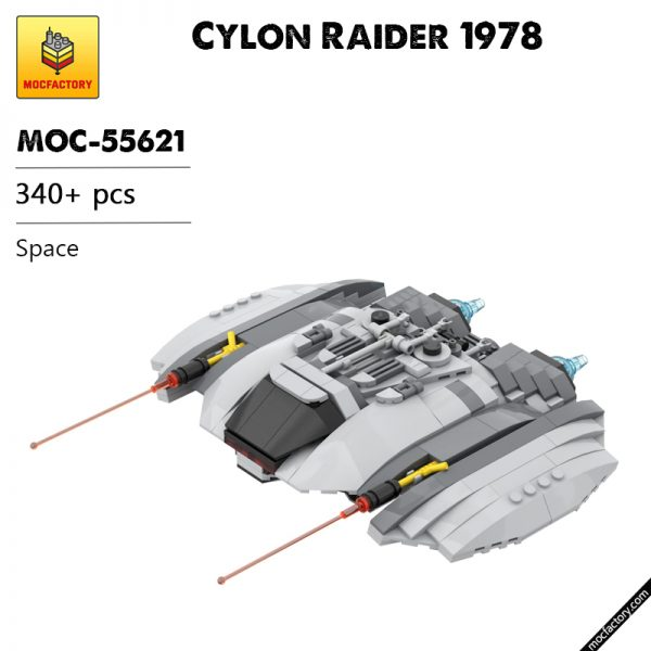 MOC 55621 Cylon Raider 1978 Space by Runescope MOC FACTORY - MOULD KING