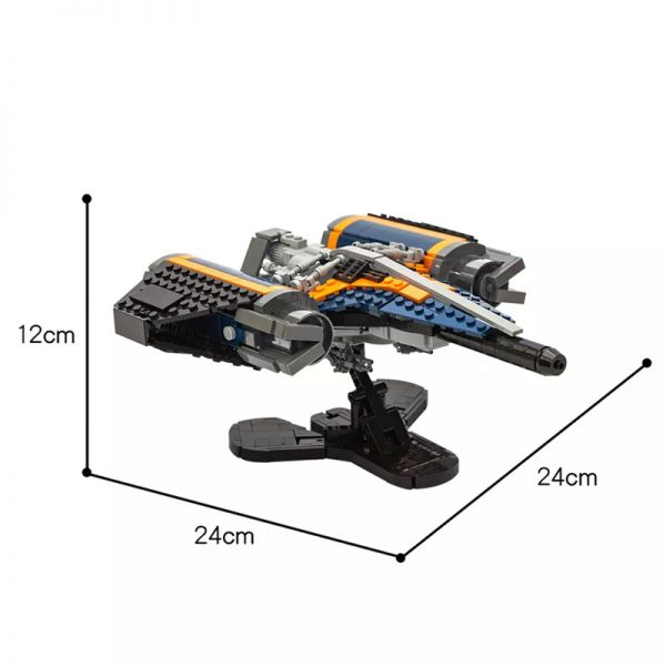 MOC 56187 Destiny Arcadia class jumpship Space by legobodgers MOC FACTORY 2 - MOULD KING