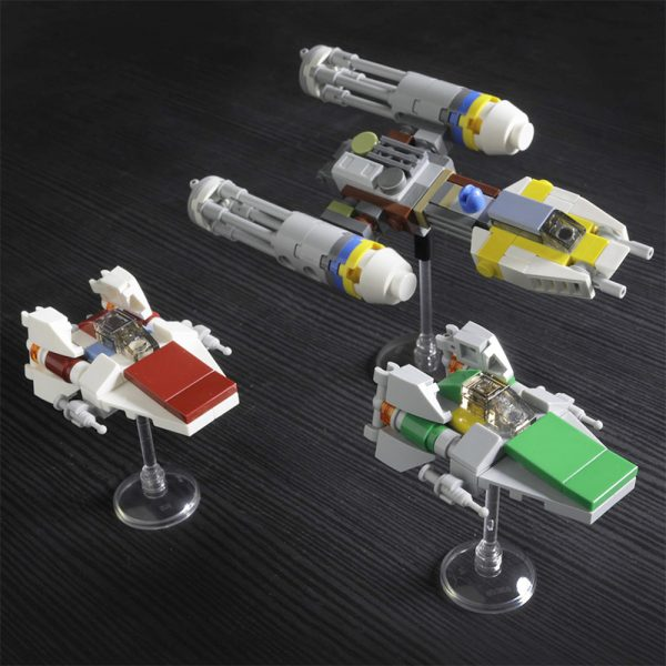 MOC 56438 The Rebellion Star Wars by onecase MOC FACTORY 2 - MOULD KING