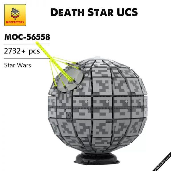 MOC 56558 Death Star UCS Star Wars by 6211 MOC FACTORY - MOULD KING