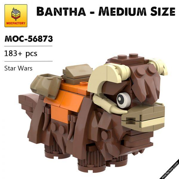 MOC 56873 Bantha Medium Size Star Wars by Kimnotyze MOC FACTORY - MOULD KING