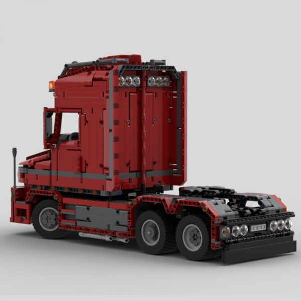 MOC 57465 Scania Truck T 580 Torpedo Technic by Furchtis MOC FACTORY 2 - MOULD KING