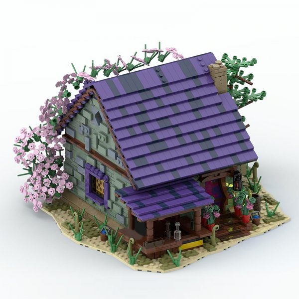 MOC 57928 Summer House Modular Building by povladimir MOC FACTORY 3 - MOULD KING