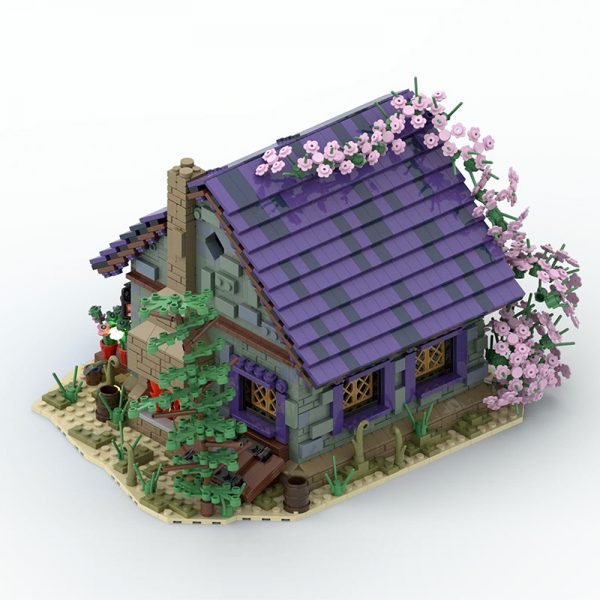 MOC 57928 Summer House Modular Building by povladimir MOC FACTORY 5 - MOULD KING