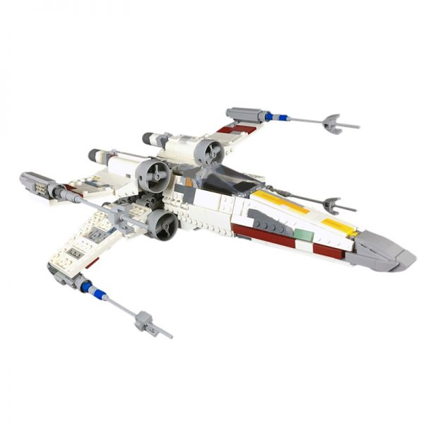MOC 59321 Incom T 65 X Wing Starfighter Red 5 Star Wars by 2bricksofficial MOC FACTORY 2 - MOULD KING