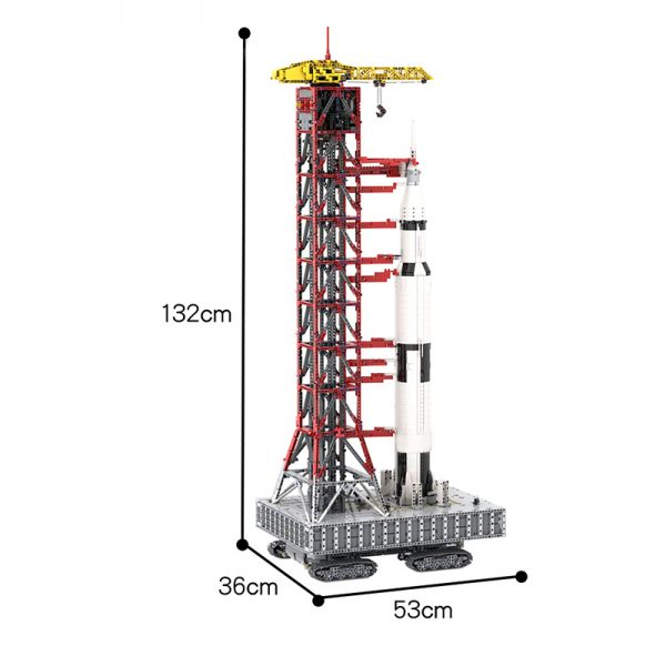 MOC 60088 Launch Tower Mk I for Saturn V 2130992176 with Crawler Space by Janotechnic MOC FACTORY 7 - MOULD KING