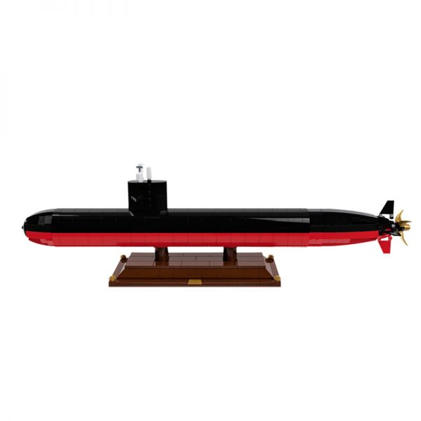 MOC 61366 Los Angeles Class Nuclear Submarine Military by veyniac MOC FACTORY 3 - MOULD KING