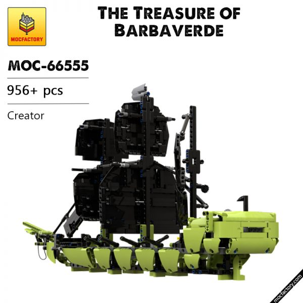 MOC 66555 The Treasure of Barbaverde Creator by marcosbaires76 MOC FACTORY - MOULD KING