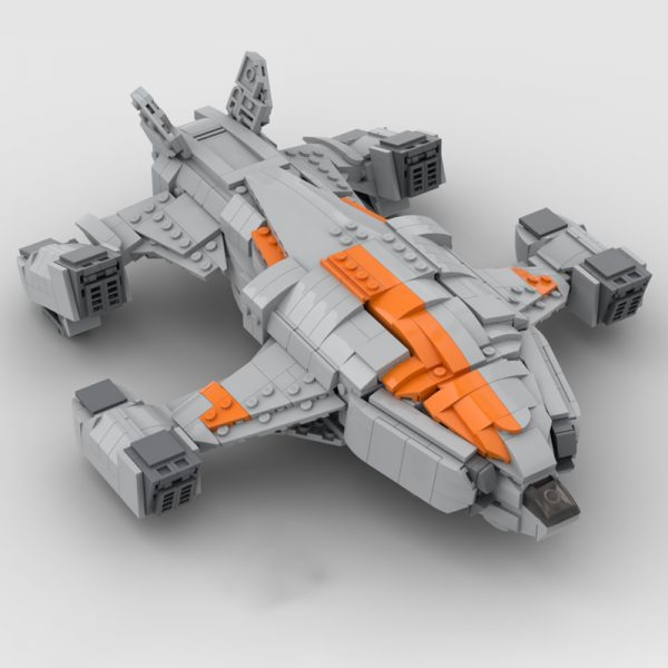MOC 68713 Chieftain Elite Dangerous Space by TheRealBeef1213 MOC FACTORY 2 - MOULD KING