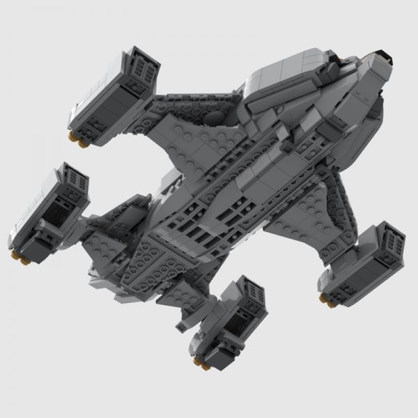 MOC 68713 Chieftain Elite Dangerous Space by TheRealBeef1213 MOC FACTORY 3 - MOULD KING