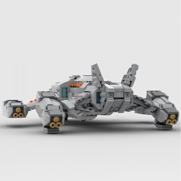 MOC 68713 Chieftain Elite Dangerous Space by TheRealBeef1213 MOC FACTORY 4 - MOULD KING