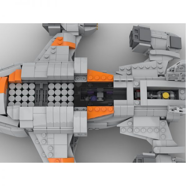 MOC 68713 Chieftain Elite Dangerous Space by TheRealBeef1213 MOC FACTORY 5 - MOULD KING