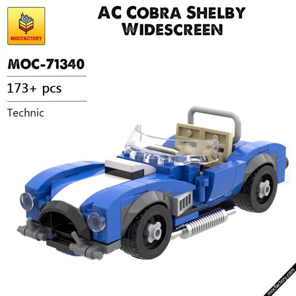 MOC 71340 AC Cobra Shelby Widescreen Technic by billyballokarlo MOC FACTORY - MOULD KING