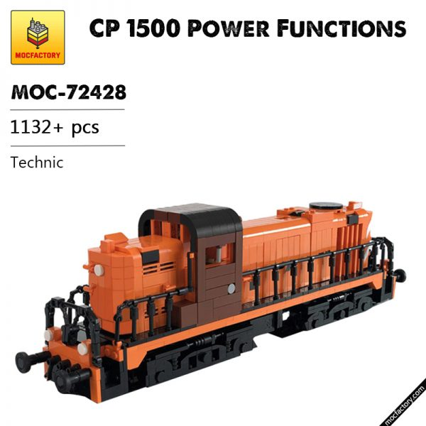 MOC 72428 CP 1500 Power Functions Technic by andrepinto MOC FACTORY - MOULD KING
