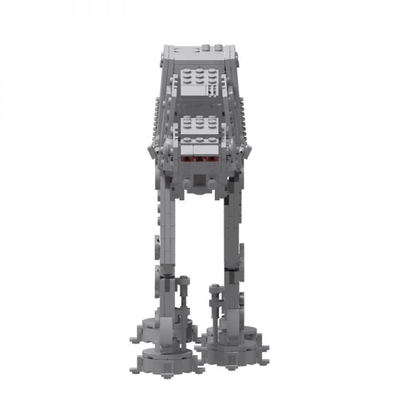 MOC 75372 Micro Series AT AT Walker Star Wars by obiwanklemmobi MOC FACTORY 2 - MOULD KING