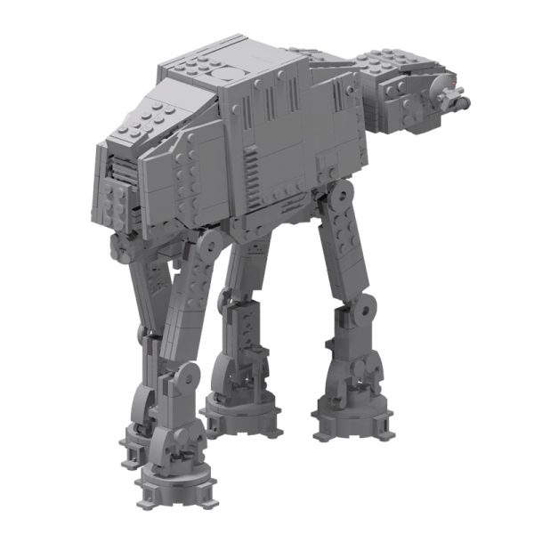 MOC 75372 Micro Series AT AT Walker Star Wars by obiwanklemmobi MOC FACTORY 3 - MOULD KING