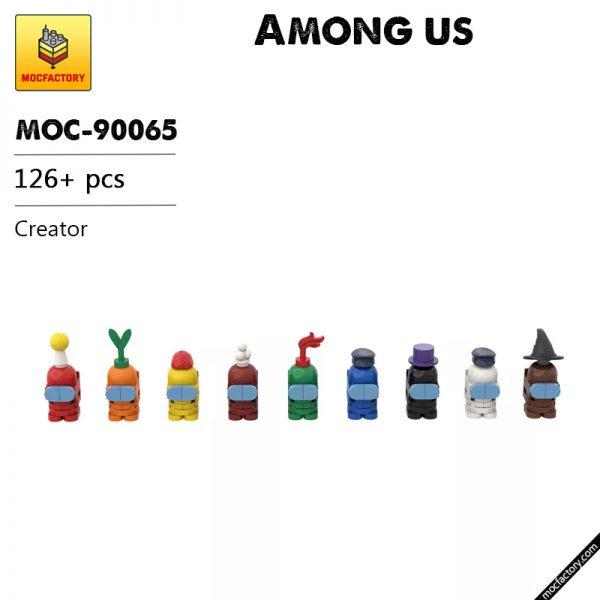 MOC 90065 Among us Creator MOC FACTORY - MOULD KING