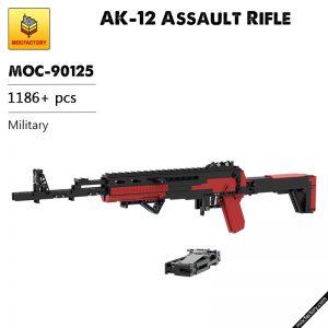 MOC 90125 AK 12 Assault Rifle Military MOC FACTORY - MOULD KING