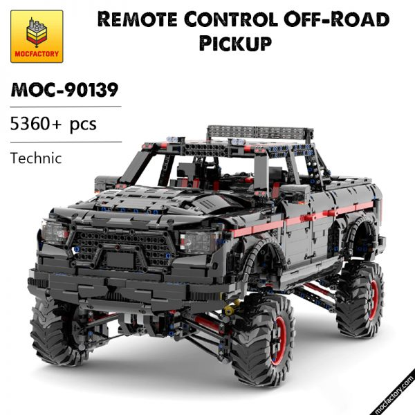 MOC 90139 Remote Control Off Road Pickup Technic MOC FACTORY - MOULD KING
