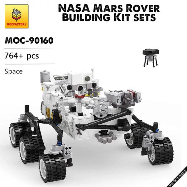 MOC 90160 NASA Mars Rover Building Kit sets Space MOC FACTORY - MOULD KING
