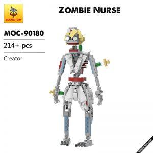 MOC 90180 Zombie Nurse Creator MOC FACTORY - MOULD KING