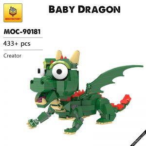 MOC 90181 Baby Dragon Creator MOC FACTORY - MOULD KING