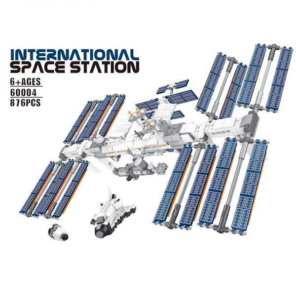 NEW Space Station The Apollo Saturn V Model Lepining Building Blocks Compatible 21321 21309 Toys For - MOULD KING