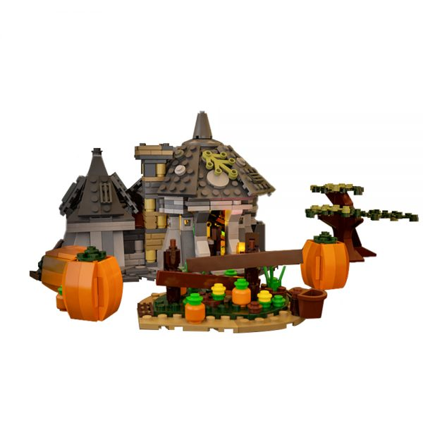 moc 17036 hut minifig scale movie by brickproject moc factory 104511 - MOULD KING
