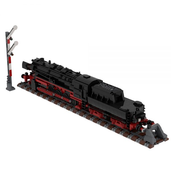 moc 25554 german class 52 80 steam locomotive technic by topaces moc factory 110042 1 - MOULD KING