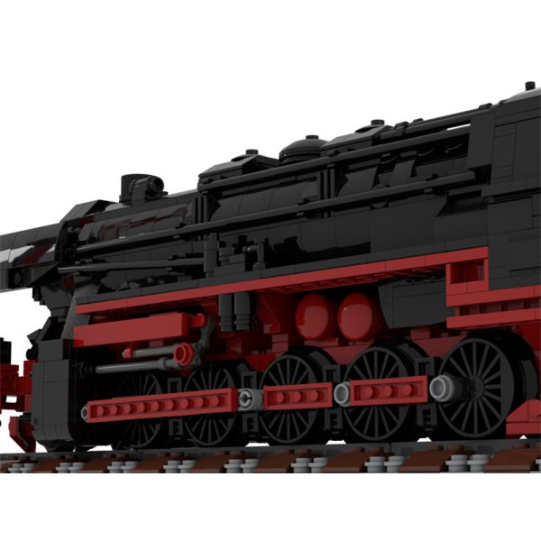 moc 25554 german class 52 80 steam locomotive technic by topaces moc factory 110044 1 - MOULD KING