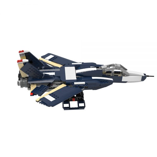 moc 38032 f 14 tomcat military by ale0794 moc factory 233858 - MOULD KING
