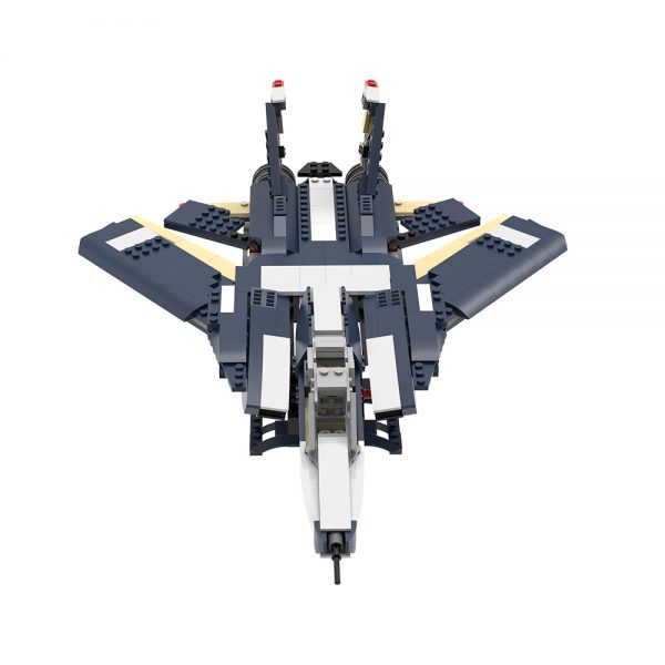 moc 38032 f 14 tomcat military by ale0794 moc factory 233904 - MOULD KING