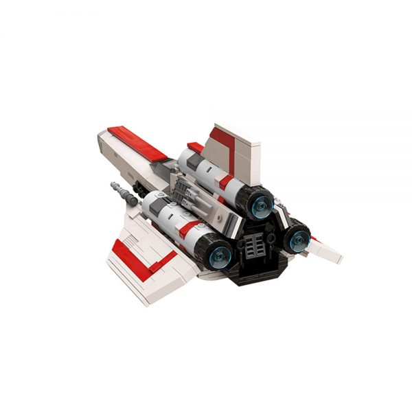 moc 45112 colonial viper mk1 version 2 0 space by apenello moc factory 204526 3 - MOULD KING