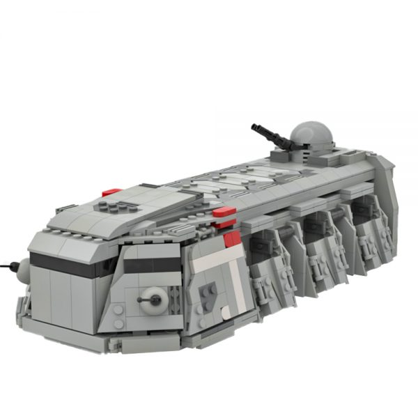 moc 48585 imperial troop transport mini fig scale star wars by legomazing moc factory 112108 - MOULD KING