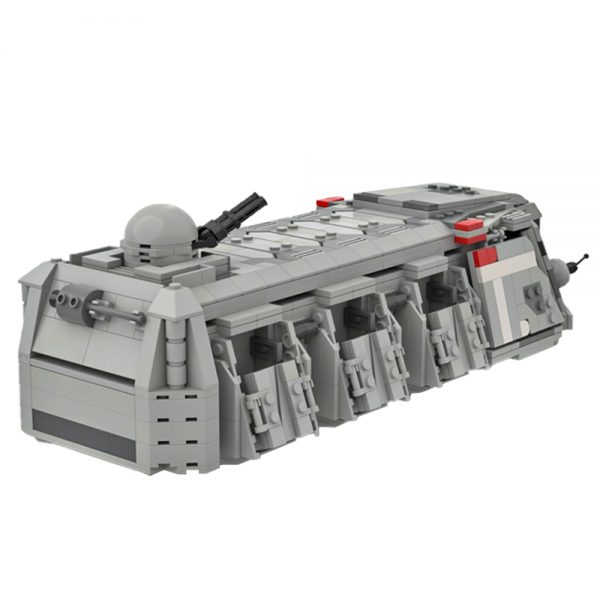 moc 48585 imperial troop transport mini fig scale star wars by legomazing moc factory 112112 - MOULD KING