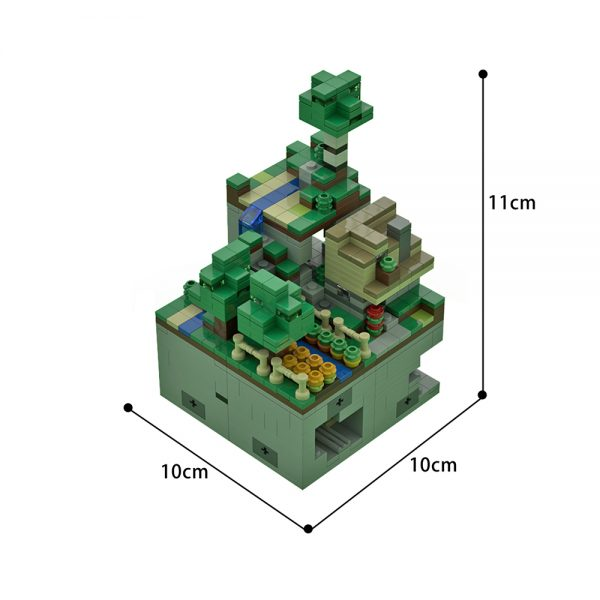 moc 51935 micro world 1 wooded hills 1125 scale creator by mobilbenja moc factory 220903 - MOULD KING