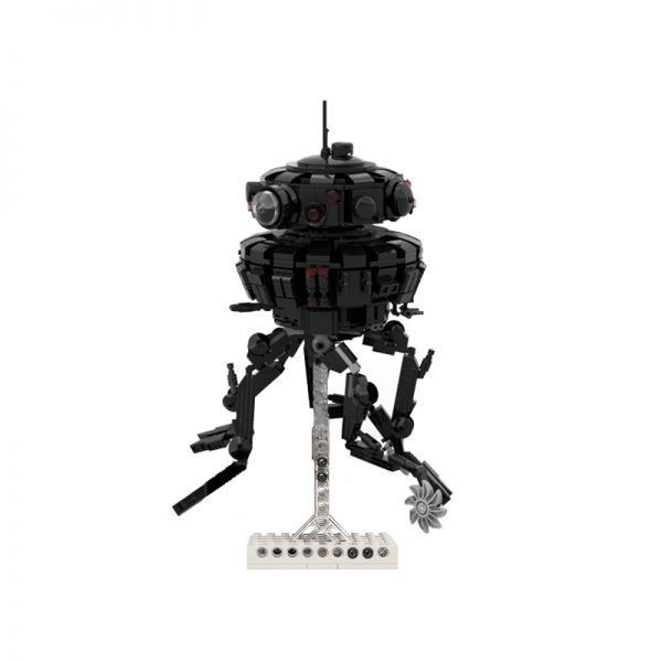 moc 53207 imperial probe droid star wars by dmarkng moc factory 112059 - MOULD KING