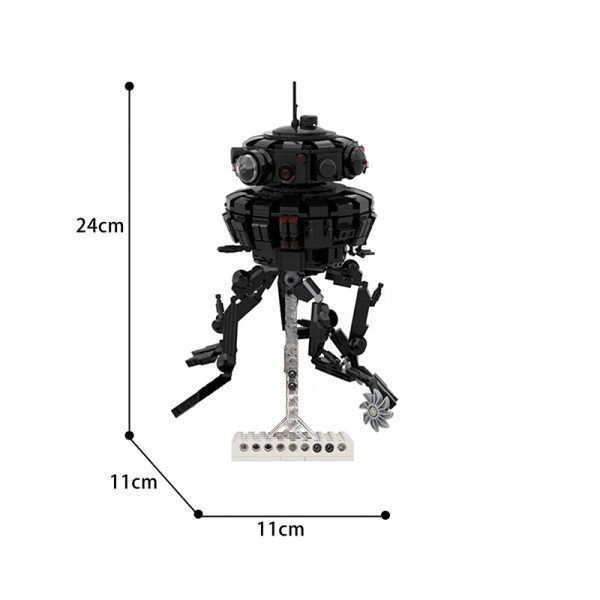 moc 53207 imperial probe droid star wars by dmarkng moc factory 112103 - MOULD KING