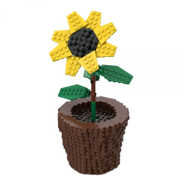 moc 59730 sunflower creator by anakin2001 moc factory 002907 - MOULD KING