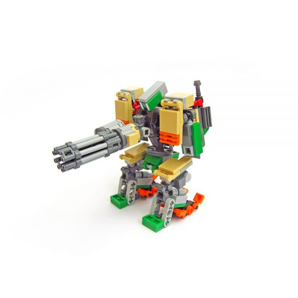 moc 65928 bastion from overwatch creator by kmx creations moc factory 224823 1 - MOULD KING