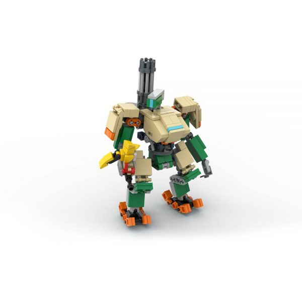 moc 65928 bastion from overwatch creator by kmx creations moc factory 224826 1 - MOULD KING