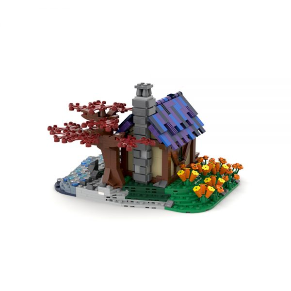 moc 66465 tiny house at the sea creator by brickgloria moc factory 230834 - MOULD KING