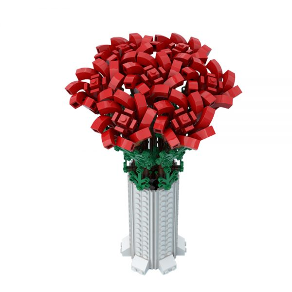moc 67229 small bouquet of roses creator by ben stephenson moc factory 234625 1 - MOULD KING