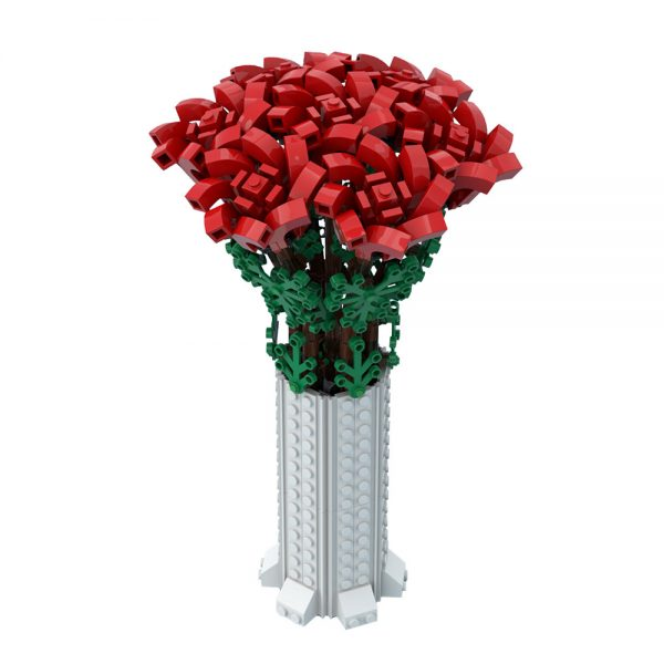moc 67229 small bouquet of roses creator by ben stephenson moc factory 234629 1 - MOULD KING