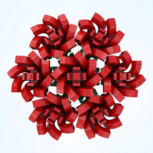 moc 67229 small bouquet of roses creator by ben stephenson moc factory 234632 1 - MOULD KING