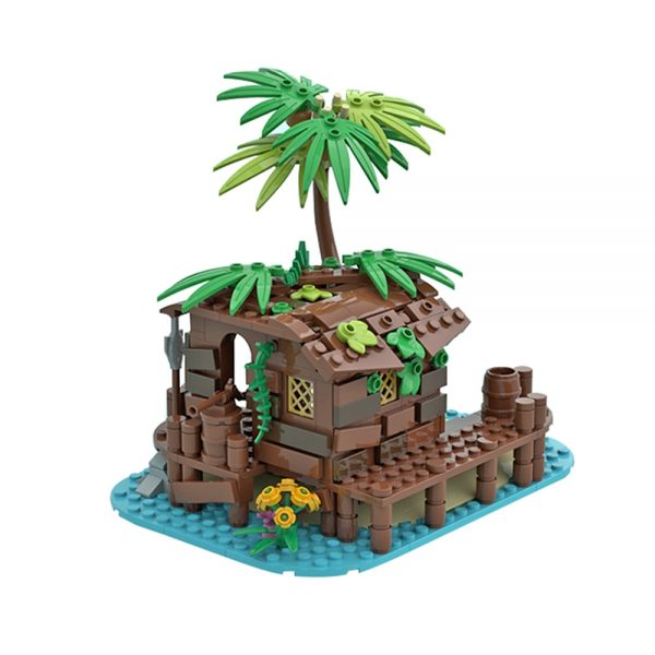 moc 71229 pirate shed 21322 barracuda bay extension creator by maniu 81 moc factory 213556 - MOULD KING
